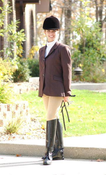 EquiRoyal Ladies Long Length Hunt Coat
