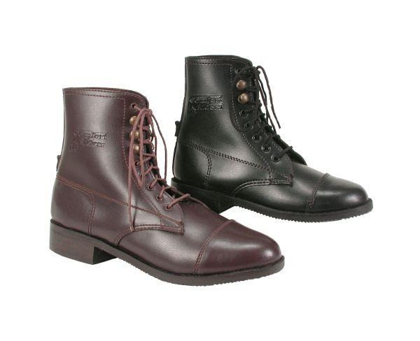 EquiRoyal Children's Leather-Like Paddock Boots