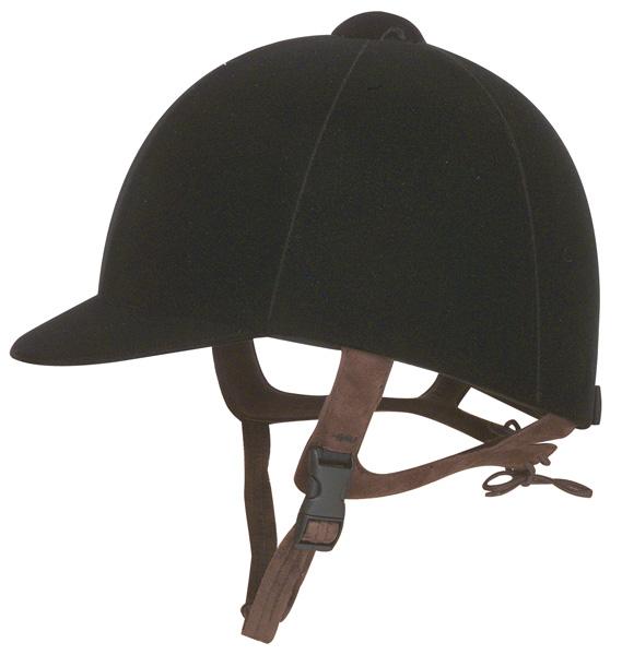 IRH Olympian Velveteen Riding Helmet