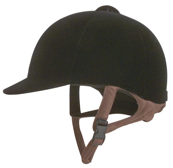 IRH Pro-Rider Velveteen Riding Helmet