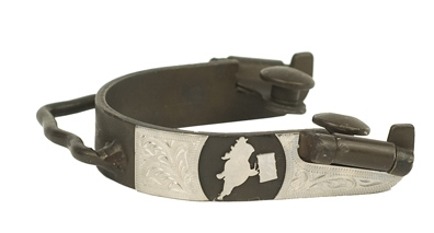 Metalab Cowboy Collection Barrel Racing Bumper Spur