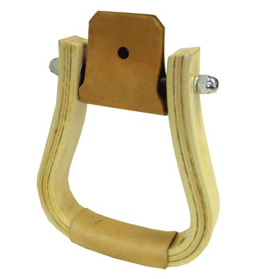 Coronet Western Bell Wood Stirrups