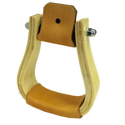 Coronet Western Stirrups with Wide Tread
