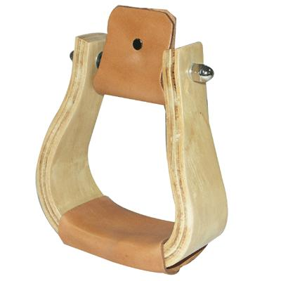 Coronet Offset Wooden Stirrup