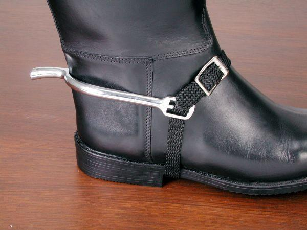 EquiRoyal Braided Nylon Spur Strap