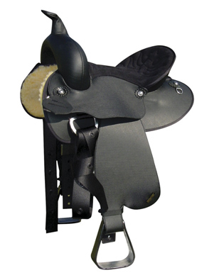 Wintec Synthetic Youth Western Saddle