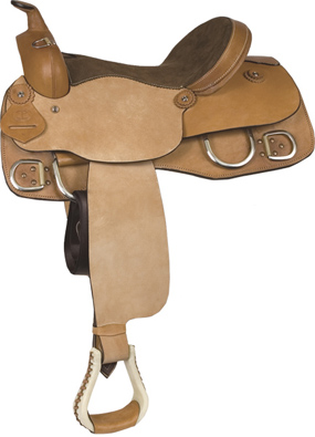 Circle P Training Leather Saddle