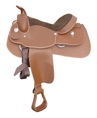 Lami-Cell Western Equitation Saddle