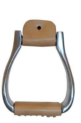 Metalab Aluminum Stirrups, Roper