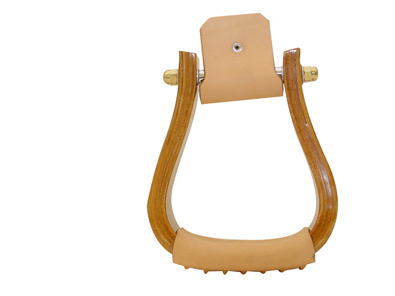 "Metalab 2"" Wooden Visalia Stirrup"