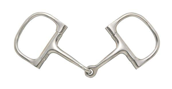 Kelly Silver Star Barrel D Ring Snaffle