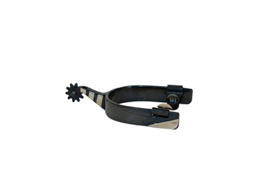 Metalab Black Satin Roping Spur