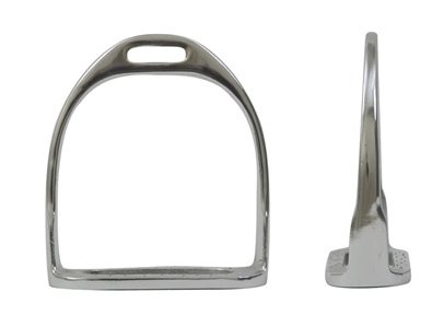 Metalab English Stirrups Nickel Plated