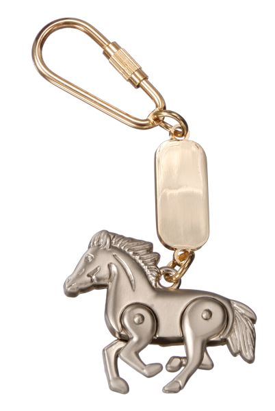 Moveable Horse Keychain