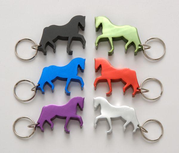 Aluminum Horse Keychain/Bottle Opener
