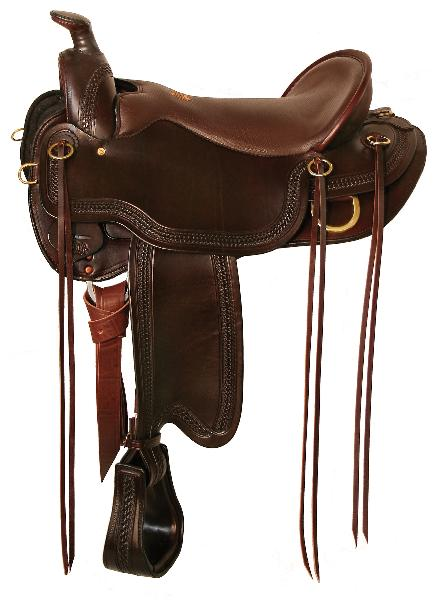 TUCKER Gen II South Pass Trail Saddle Smooth