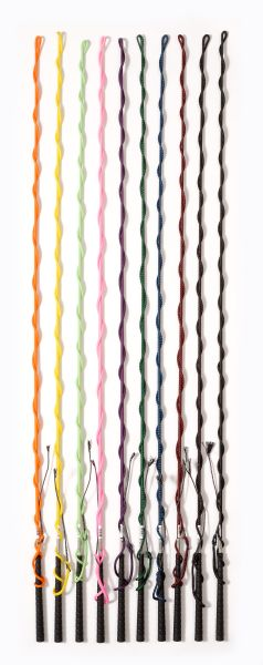 12 Pack 6 Foot Nylon Lunge Whip Bright Colors