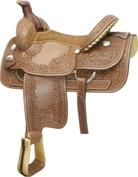Billy Cook Saddlery Motes Oakleaf Border Tool Roper