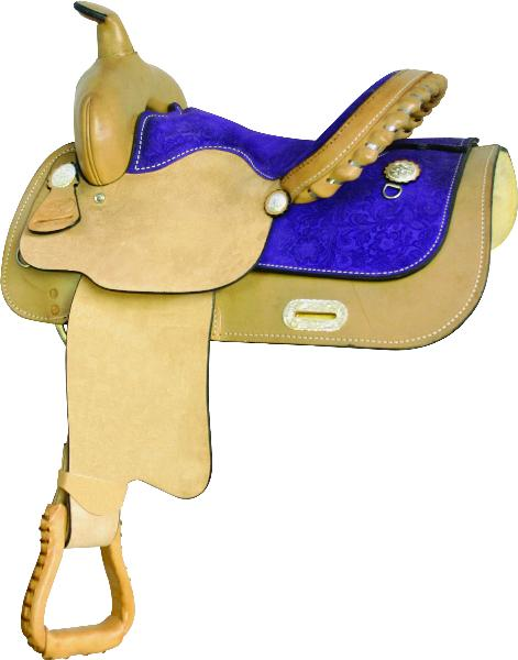 Easy Rider Daisy Trim Saddle