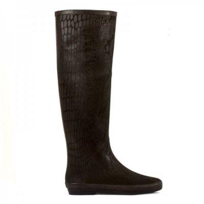 dav Ladies Festival Snake Rain Boots