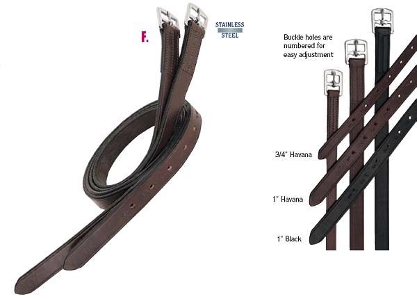 Weaver Stirrup Leathers