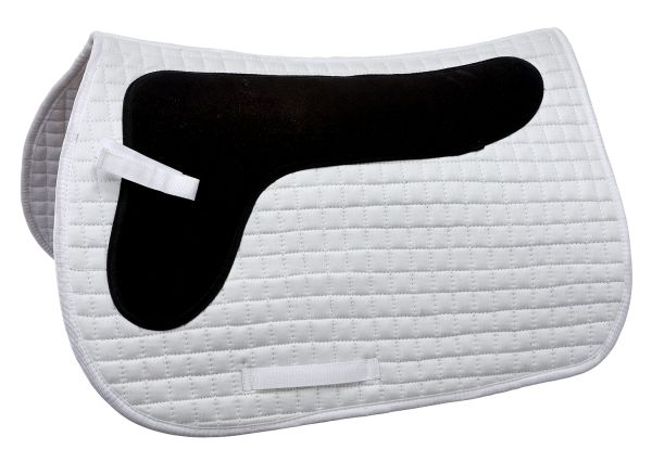 Quilted Cotton Square Pad with Rubber Padding