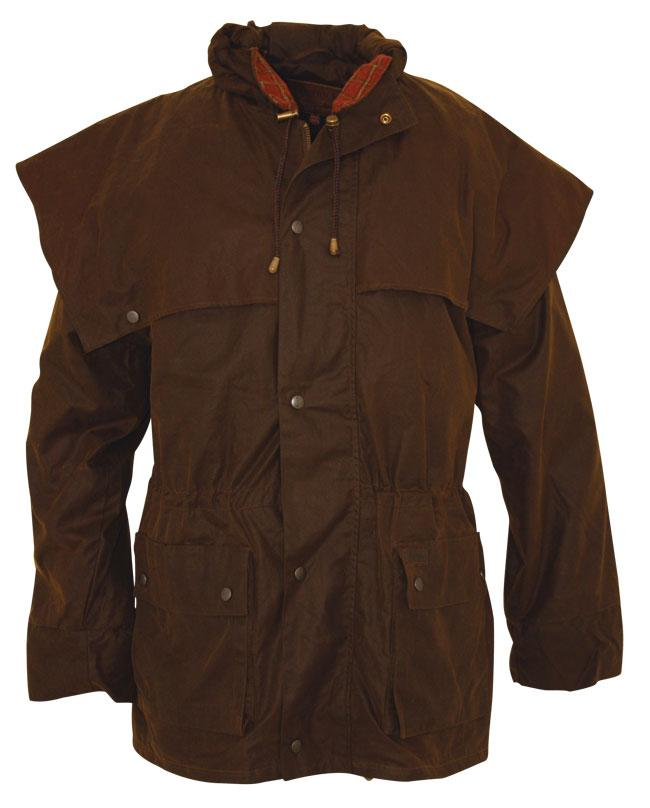 Outback Oilskin Swagman Jacket