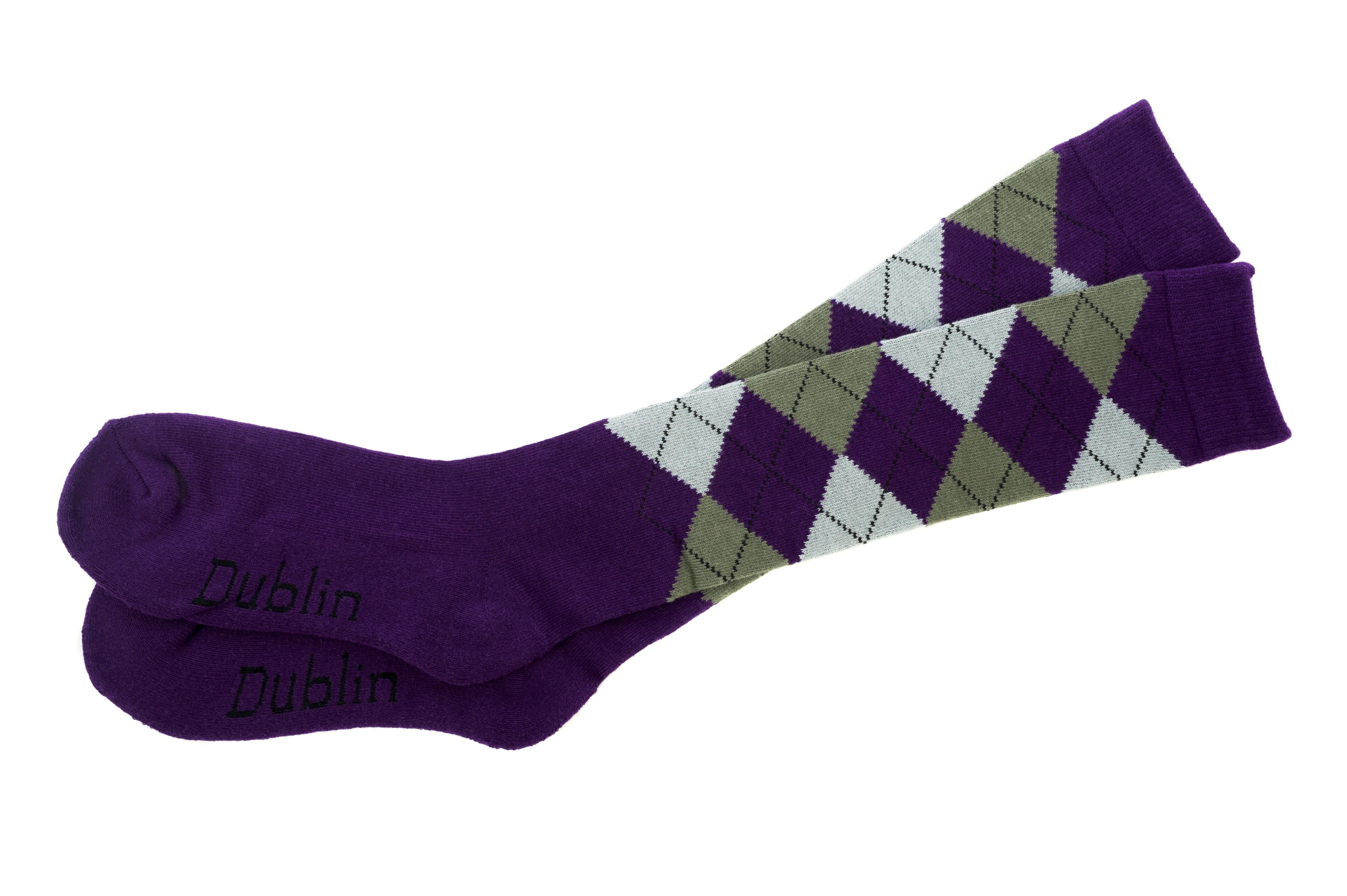 DUBLIN Argyle Riding Socks