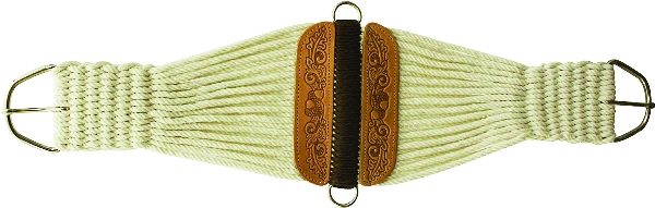 Abetta Tooled Roper Girth