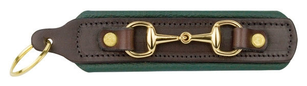 Perri's Padded Leather Bit Key Chain