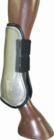 TUFFRIDER Silver Open Front Horse Boot
