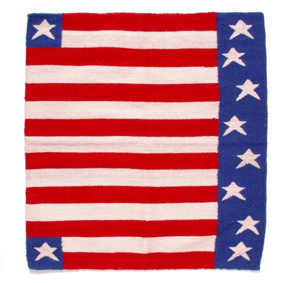 Tough-1 Stars & Stripes Wool Saddle Blanket