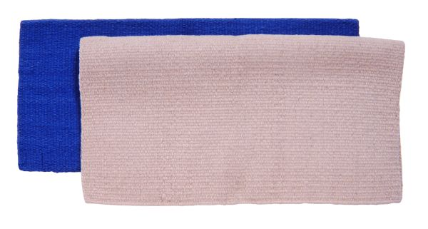 34'' X 36'' 4lb Solid Color Saddle Blanket