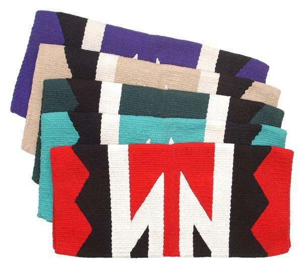 Tough-1 Sioux Double Weave Saddle Blanket