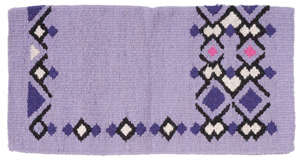Tough-1 Wool Diamonds 4lb Saddle Blanket