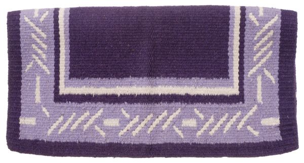 Tough-1 Wool Barbwire Saddle Blanket 4lb