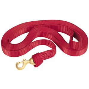 Weaver Flat Nylon Lunge Line with Brass Snap