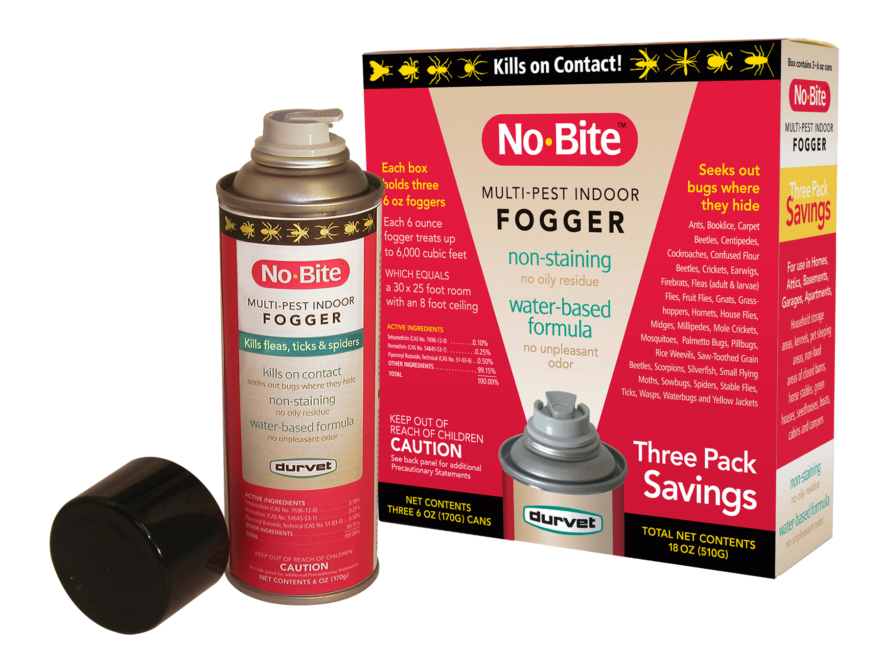 No-Bite Multi-Pest Fogger