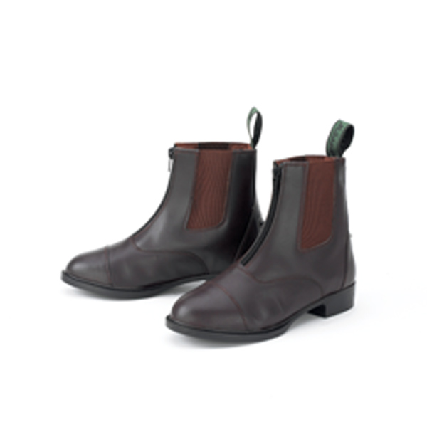 Millstone Ladies Synthetic Zip Paddock Boots