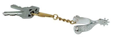 Metalab Spur Keychain