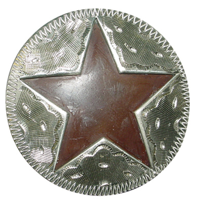 Metalab Antique Star Cut Out Concho