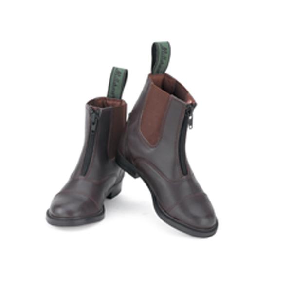 Millstone Kids Synthetic Zip Paddock Boots