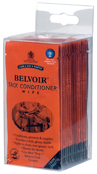 Carr & Day & Martin Horse Belvoir Tack Conditioner Wipes