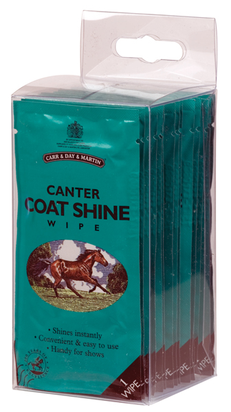 Carr & Day & Martin Horse Canter Coat Shine Wipes