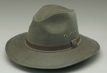 Outback Trading Rampart Oilskin Hat