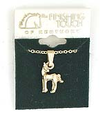 Finishing Touch Horse Looking Over Shoulder Necklace