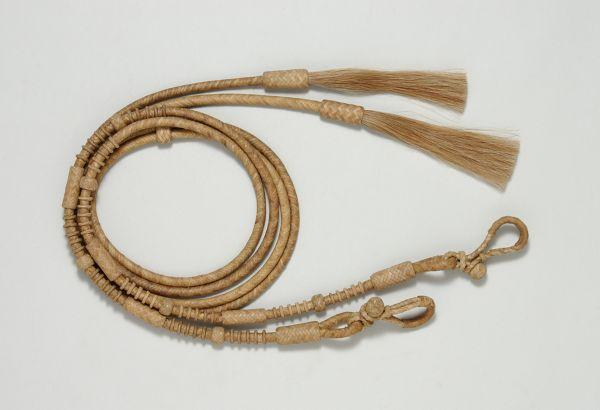 Royal King Deluxe Rawhide Split Reins