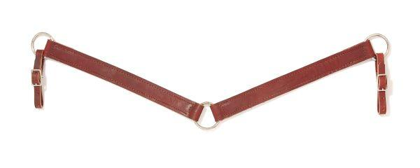 Royal King Pony Leather Breastcollar