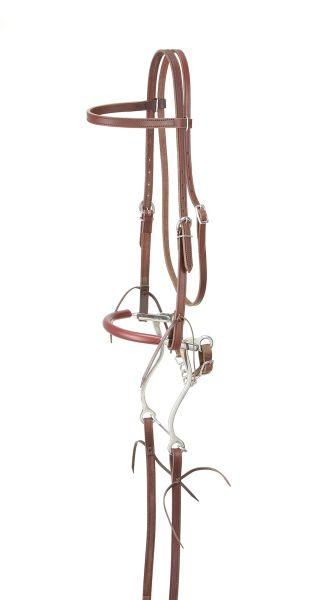 King Series Browband Bridle with Hackamore