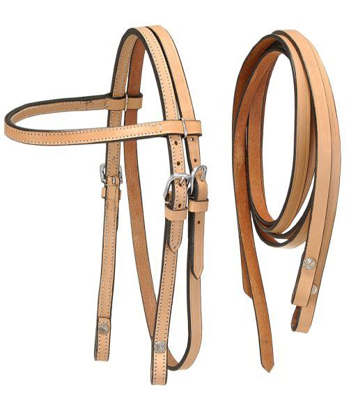 King Series Miniature Browband Headstall